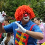 Bild: tanzender Clown