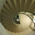 Bild - Die Wendeltreppe der Siegessäule von unten