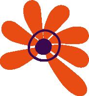 Bild: Blume aus dem Logo des Familienzentrum