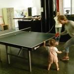 Bild: beim Tischtennis