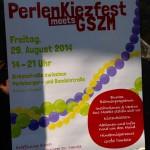 Bild: Plakat des Perlenkiezfestes