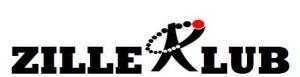 Grafik: Schriftzug ZILLEKLUB, wobei das K ein Symbol aus einem Pieck mit einem Saturkranz oben herum ist.
