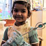 Foto: Mädchen als Prinzessin verkleidet